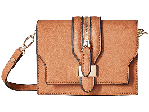 Gabriella Rocha - Polly Crossbody Saddle Bag (Cognac) Handbags