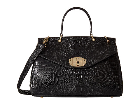 Gabriella Rocha - Joan Crocodile Purse (Black) Handbags