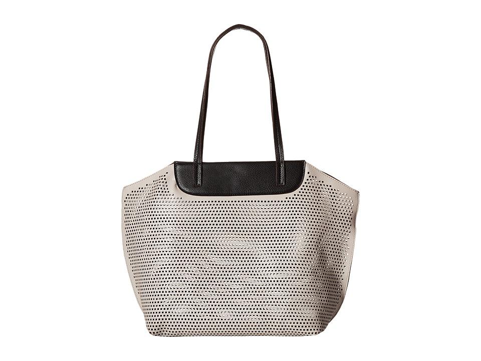 Gabriella Rocha - Gayle Perforated Purse (Grey) Handbags