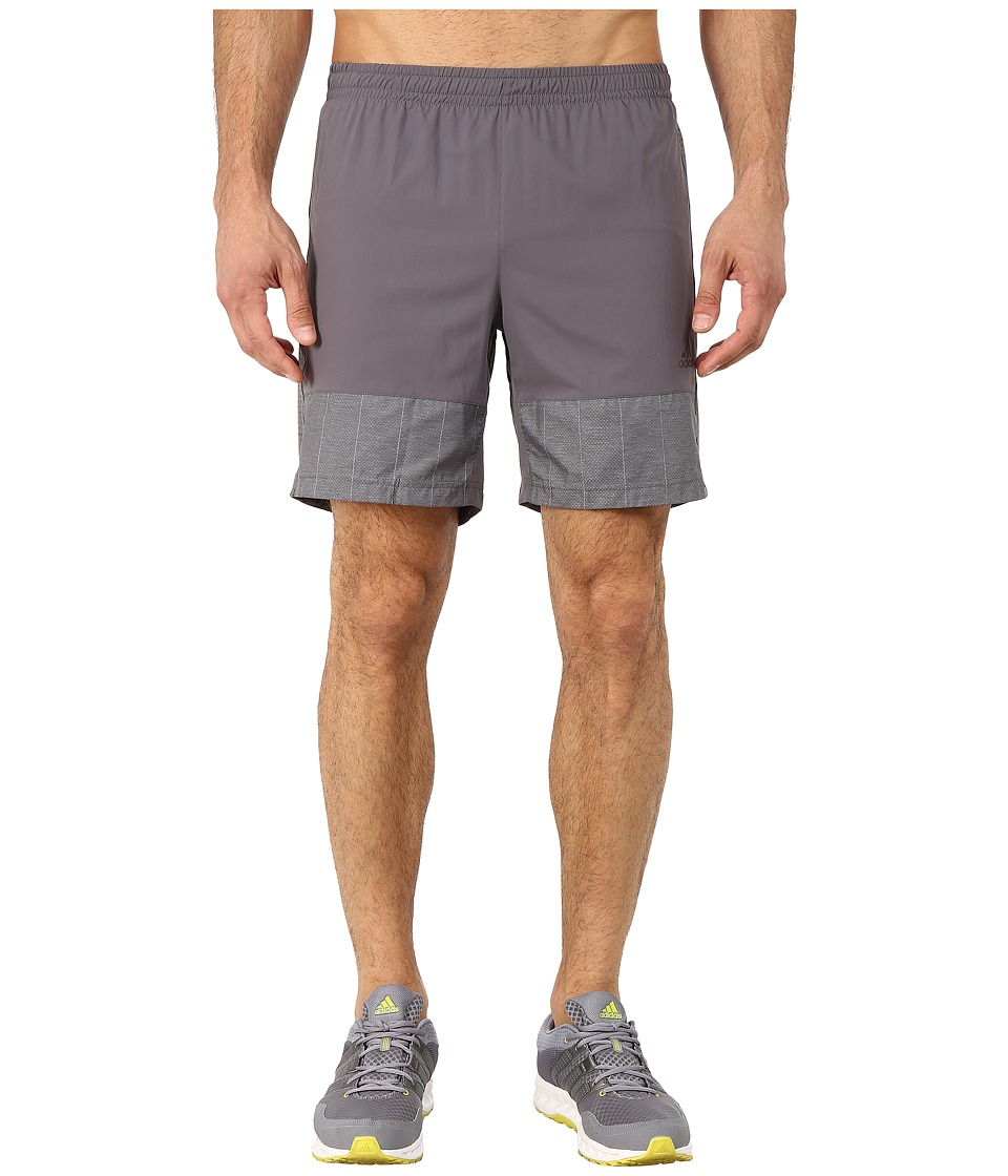 adidas - Supernova 7 Short (Granit) Men