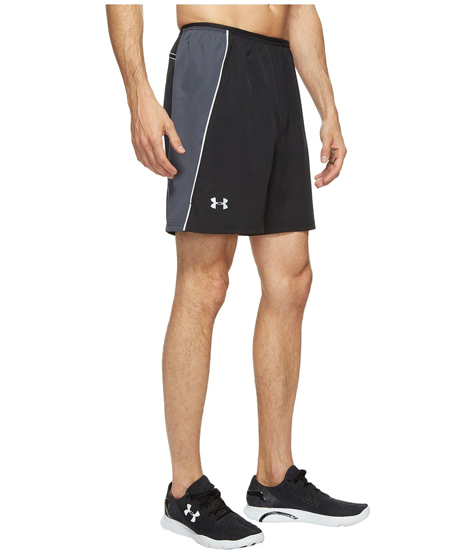 Under Armour - UA Coolswitch Run Shorts (Black/Stealth Gray/Reflective) Men's Shorts