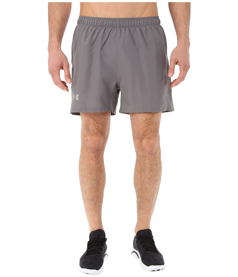Under Armour - UA Launch 5'' Run Shorts (Graphite/Graphite/Reflective) Men's Shorts