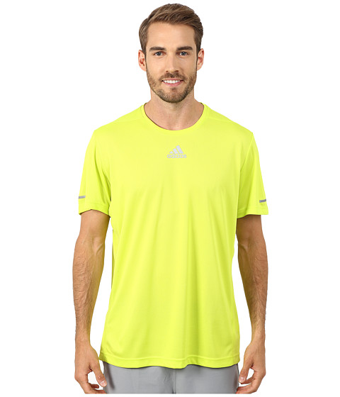 adidas - Run Tee (Solar Yellow) Men's Workout