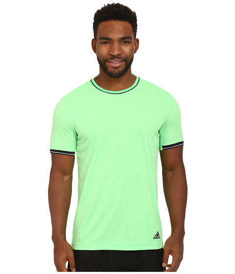 adidas - Supernova ClimaCool Tee (Flash Green/Black) Men
