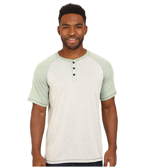 Hurley - Dri-FIT Main Henley (Birch Heather) Men's T Shirt