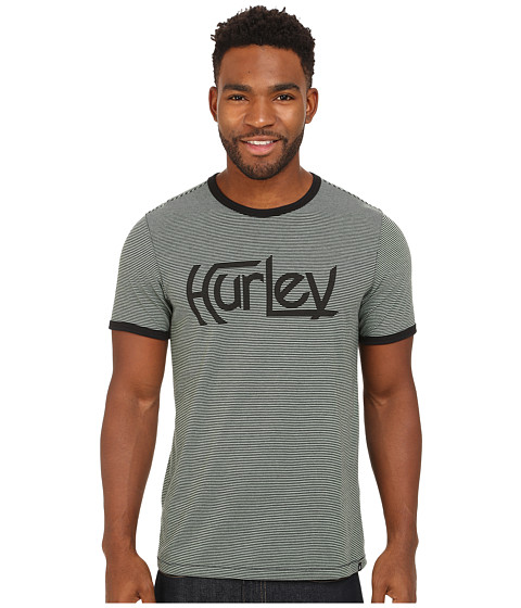 Hurley - Dri-FIT Ringer Crew (Enamel Green) Men's T Shirt