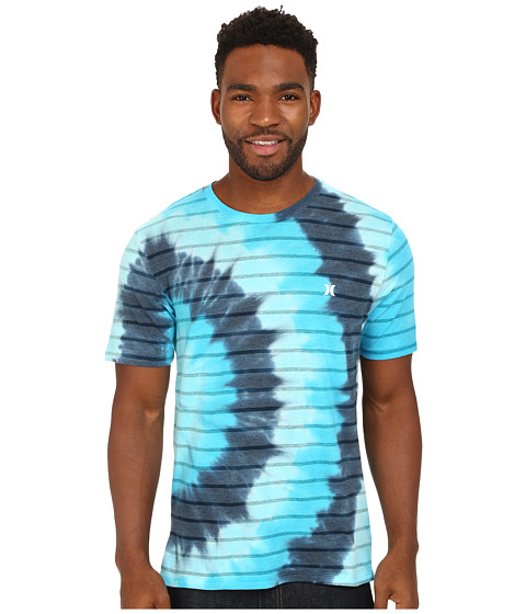 Hurley - Stryde T-Shirt (Cyan) Men's T Shirt