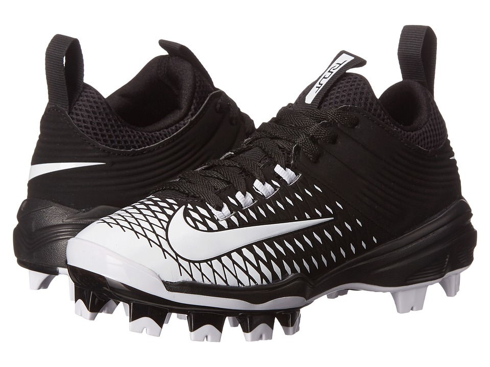 Nike Kids - Trout 2 Pro BG Baseball (Little Kid/Big Kid) (Black/White) Kids Shoes