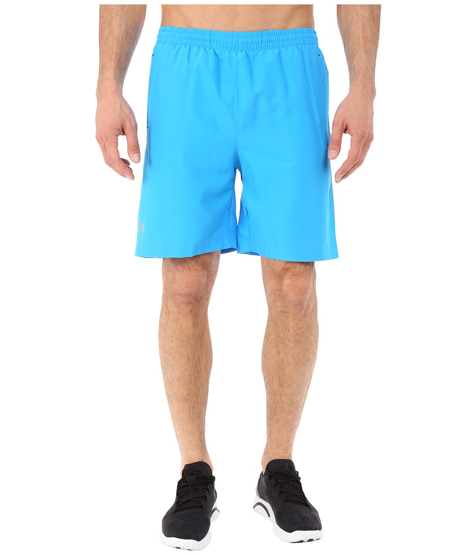 Under Armour - UA Launch 7 Woven Short (Electric Blue/Black/Reflective) Men's Shorts