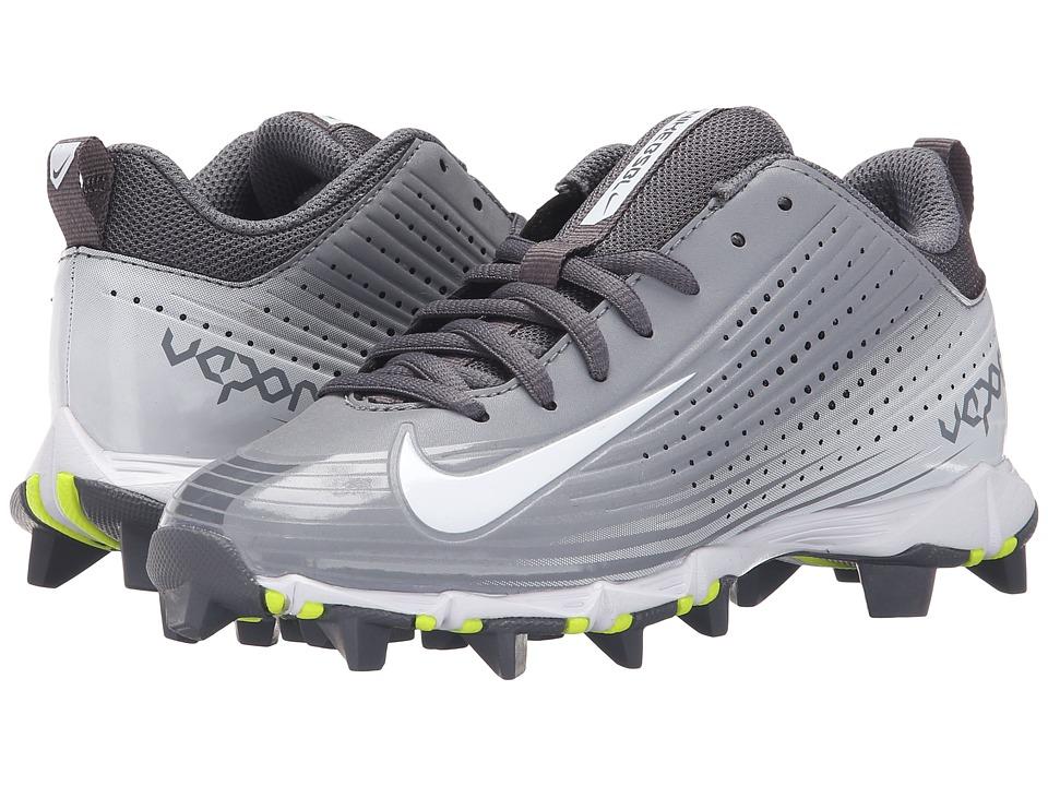 Nike Kids - Vapor Keystone 2 Low BG Baseball (Toddler/Little Kid/Big Kid) (Stealth/Light Graphite/White) Kids Shoes