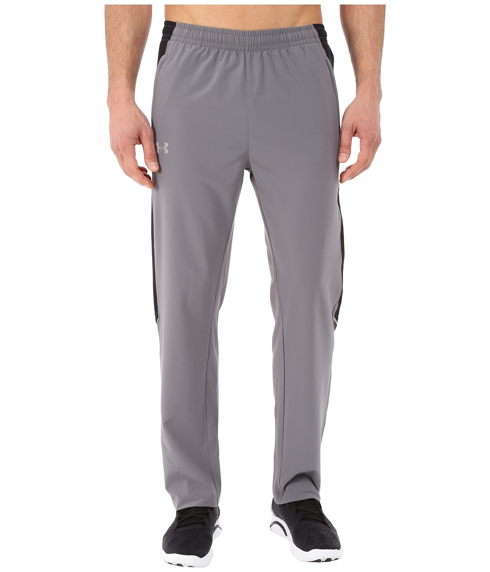 Under Armour - UA Launch Stretch Woven Pant (Graphite/Black/Reflective) Men's Casual Pants