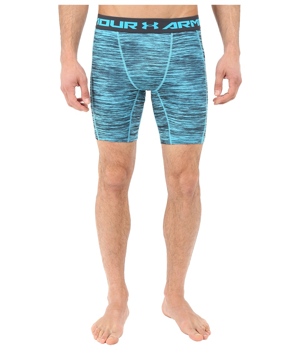 Under Armour - UA Heatgear(r) Coolswitch Compression Shorts (Meridian Blue/Reflective) Men's Shorts