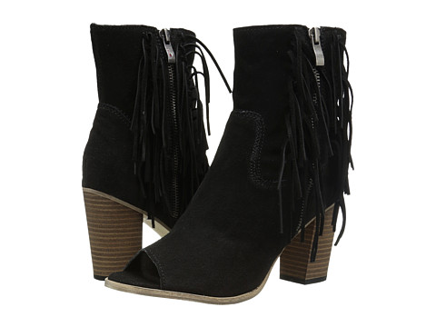 MIA - Coty (Black Suede) Women's Shoes