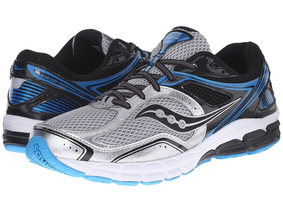 Saucony - Lancer (Silver/Black/Royal) Men