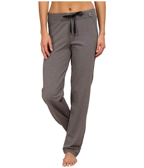 Trina Turk - Quilted Track Pants (Heather Grey) Women
