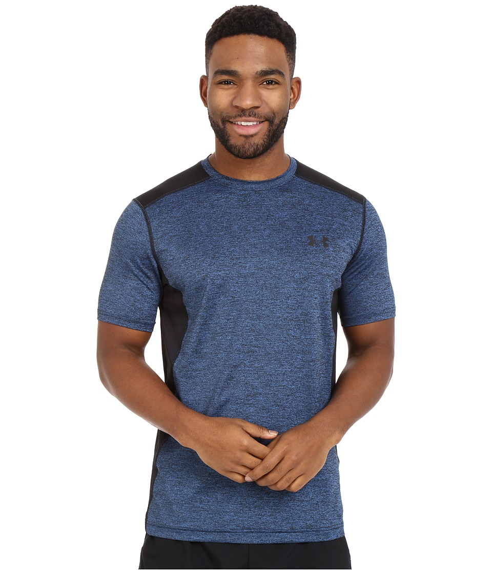 Under Armour - Raid S/S Tee (Electric Blue/Black/Black 1) Men's Short Sleeve Pullover