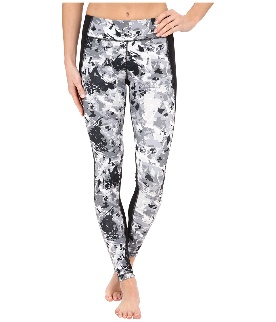 Under Armour - Shape Shifter Printed Leggings (Black/Silver) Women's Workout