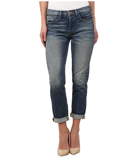 J Brand - Georgia Mid Rise Slim Boy Fit Jeans in Keeper (Keeper) Women's Jeans