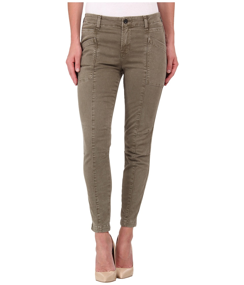 J Brand - Byrnes Skinny Cargo Pants in Olive Drab (Olive Drab) Women's Casual Pants
