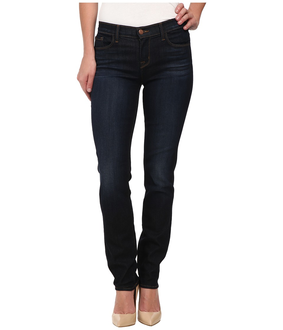 J Brand - Mid Rise Straight Leg Jeans in Lawless (Lawless) Women's Jeans