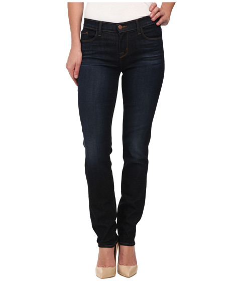 J Brand - Mid Rise Straight Leg Jeans in Lawless (Lawless) Women