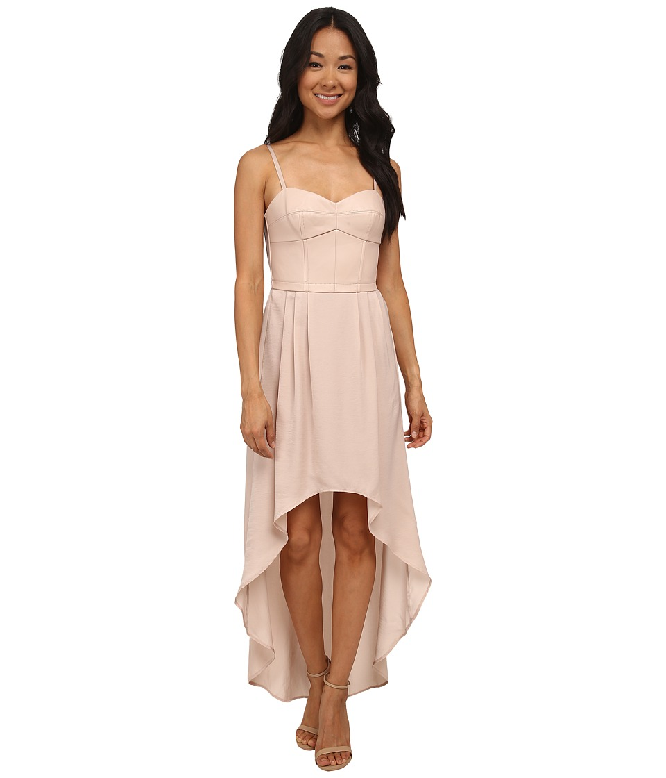 BCBGMAXAZRIA - Petite Leandra Knit Dress (Light Bare Pink) Women