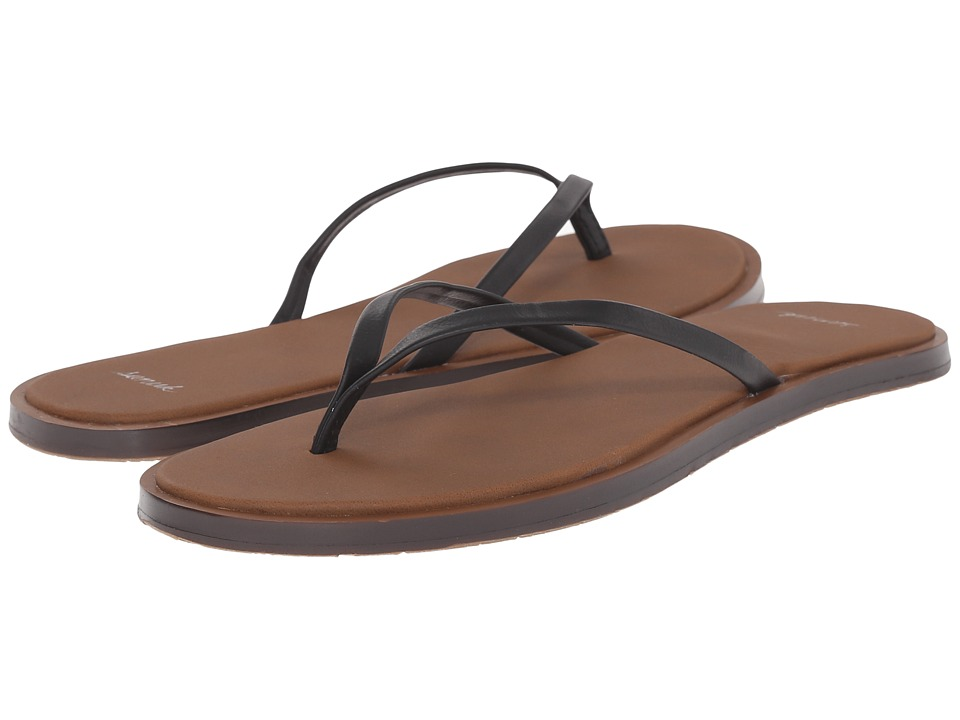 Sanuk - Yoga Aurora (Black) Women's Sandals