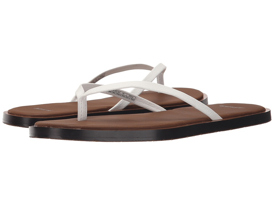 Sanuk - Yoga Aurora (White) Women's Sandals