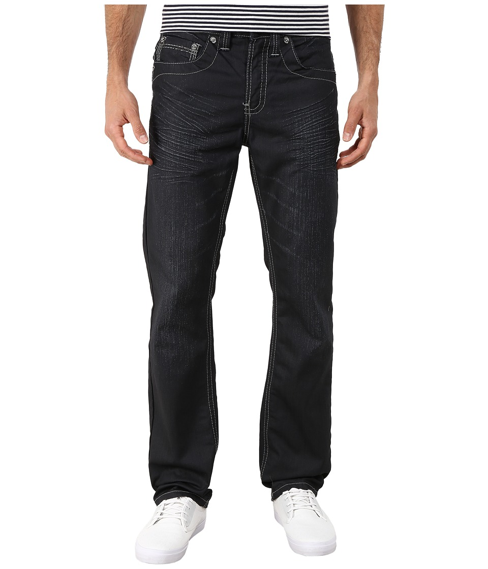 Antique Rivet - Larry Straight Jeans in Wallace (Wallace) Men's Jeans