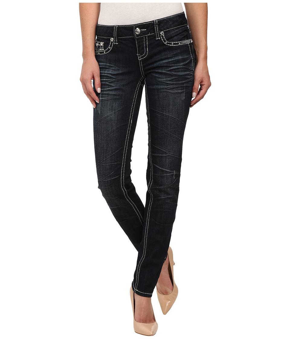 Antique Rivet - Skinny Jeans in Lennox (Lennox) Women's Jeans