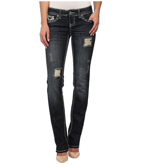 Antique Rivet - Straight Leg Jeans in Billboard (Billboard) Women's Jeans
