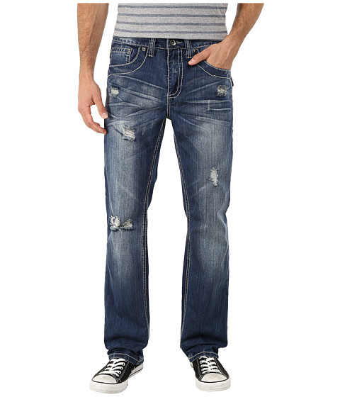 Antique Rivet - Straight Jeans in Merrick (Merrick) Men