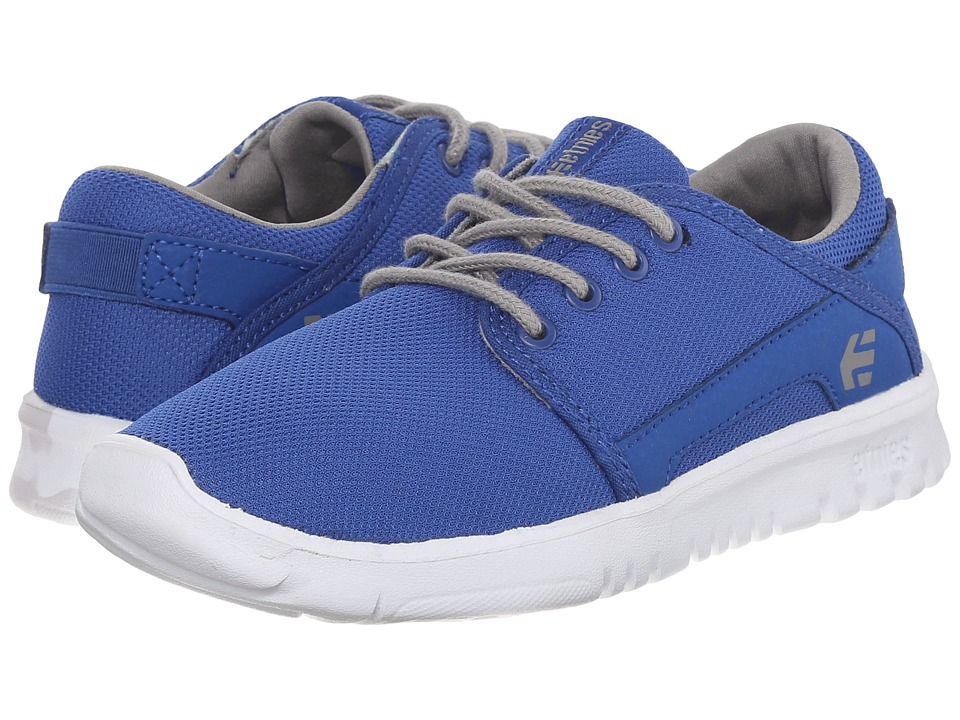 etnies Kids - Scout (Toddler/Little Kid/Big Kid) (Blue/Grey) Boys Shoes