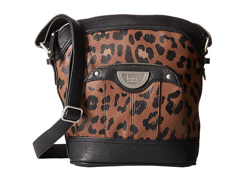 b.o.c. - Howland Crossbody (Camel/Black/Animal) Cross Body Handbags