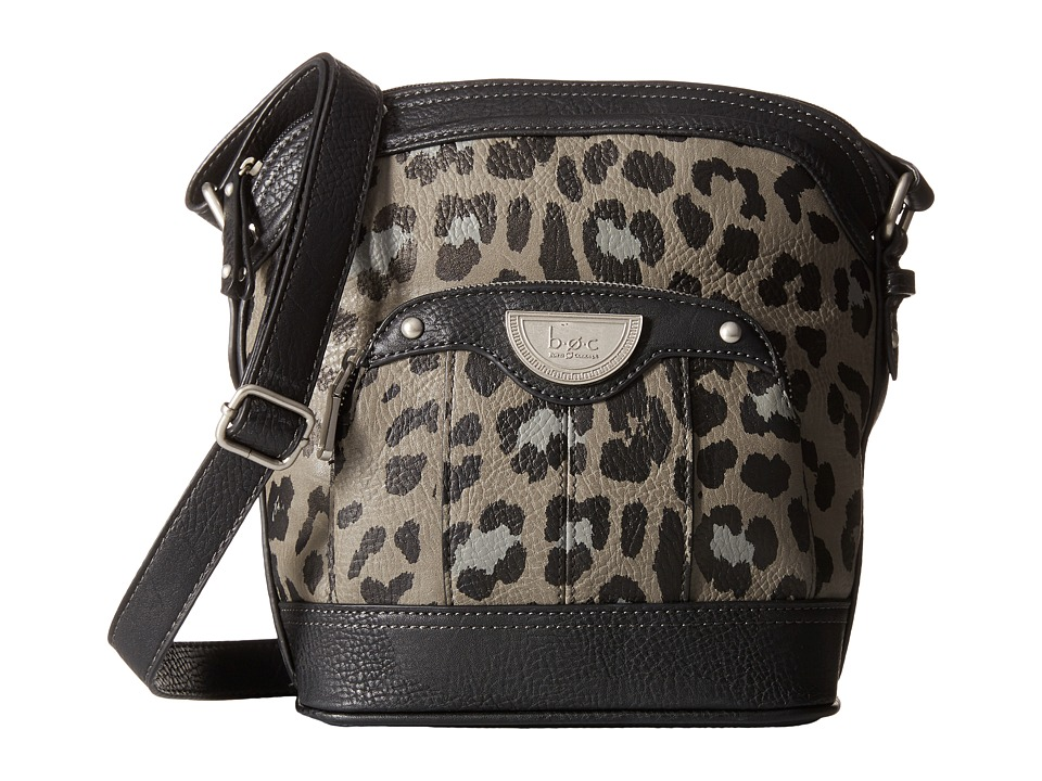 b.o.c. - Howland Crossbody (Grey/Black/Animal) Cross Body Handbags