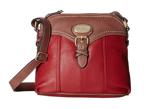 b.o.c. - Danford Crossbody (Burgundy) Cross Body Handbags