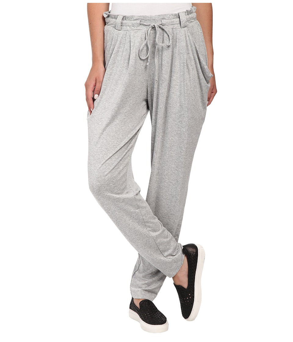 Miraclebody Jeans Pleated Easy Jersey Pants (Heather Grey) Women