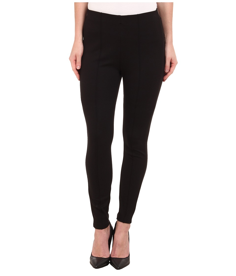 Miraclebody Jeans - Alice Seam Ponte Leggings (Black) Women's Casual Pants