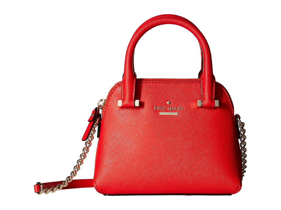 Kate Spade New York - Cedar Street Mini Maise (Cherry Liqueur) Satchel Handbags