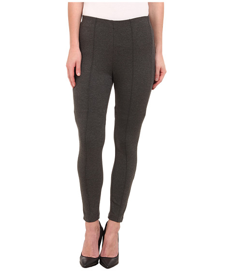 Miraclebody Jeans - Alice Seam Ponte Leggings (Heather Grey) Women's Casual Pants