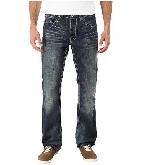 Request - Raleigh Straight Jeans in Mayer (Mayer) Men