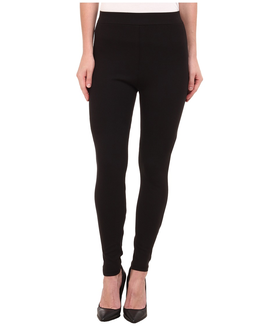 Miraclebody Jeans - Pull-On Ponte Legging (Jet Black) Women's Clothing