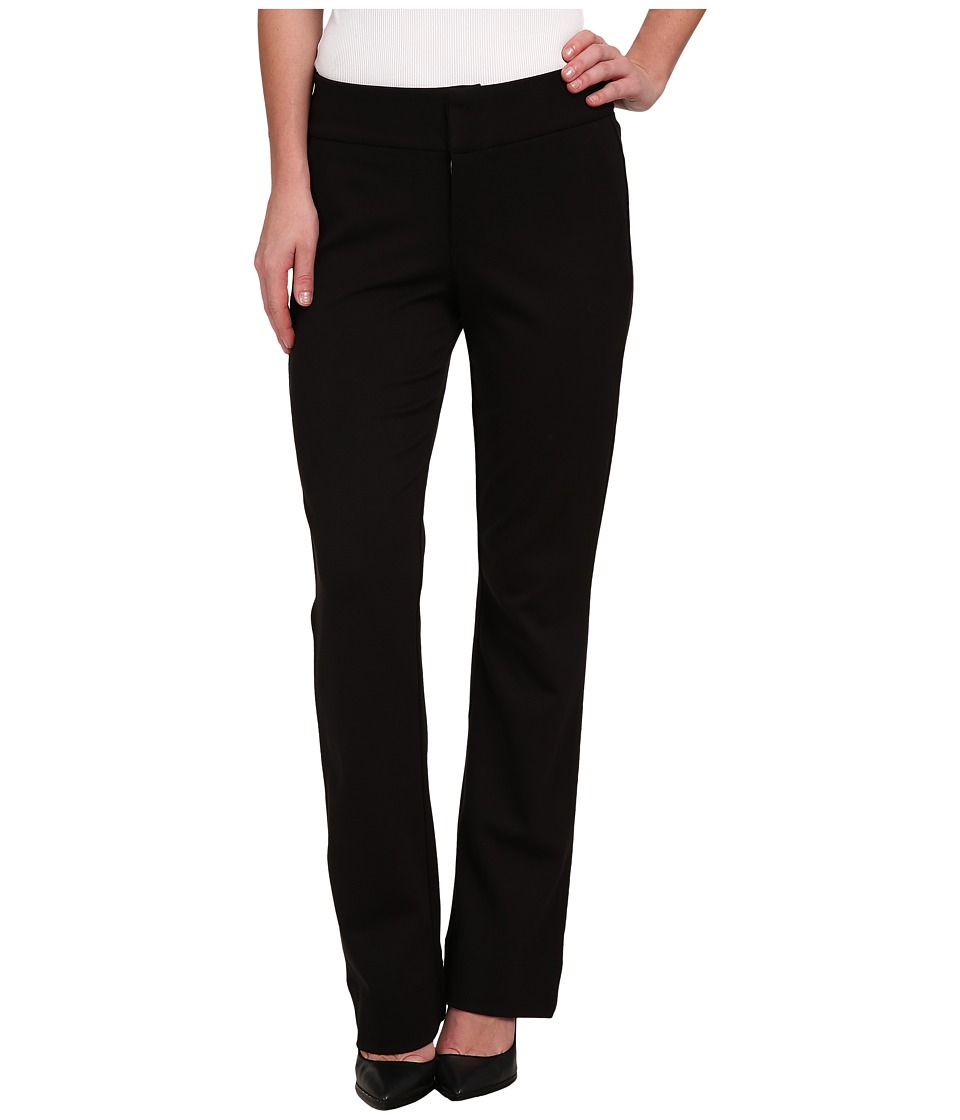 Miraclebody Jeans - Gwen Ponte Trousers (Black) Women's Casual Pants
