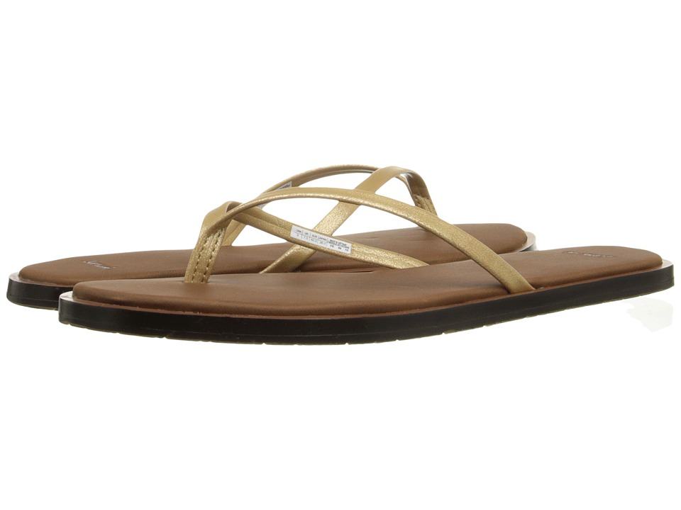 Sanuk - Yoga Aurora Glow (Gold) Women's Sandals