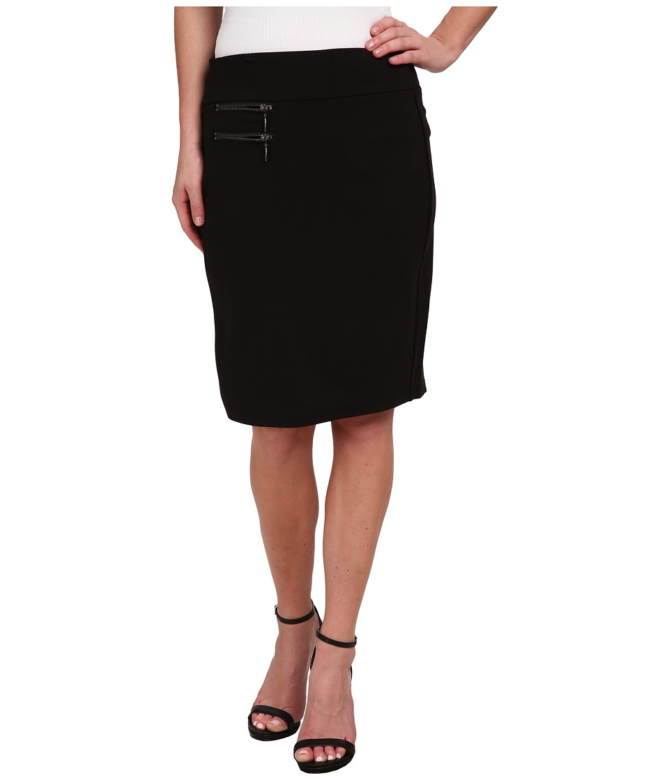 Miraclebody Jeans - Marcy Ponte 21 Skirt (Black) Women