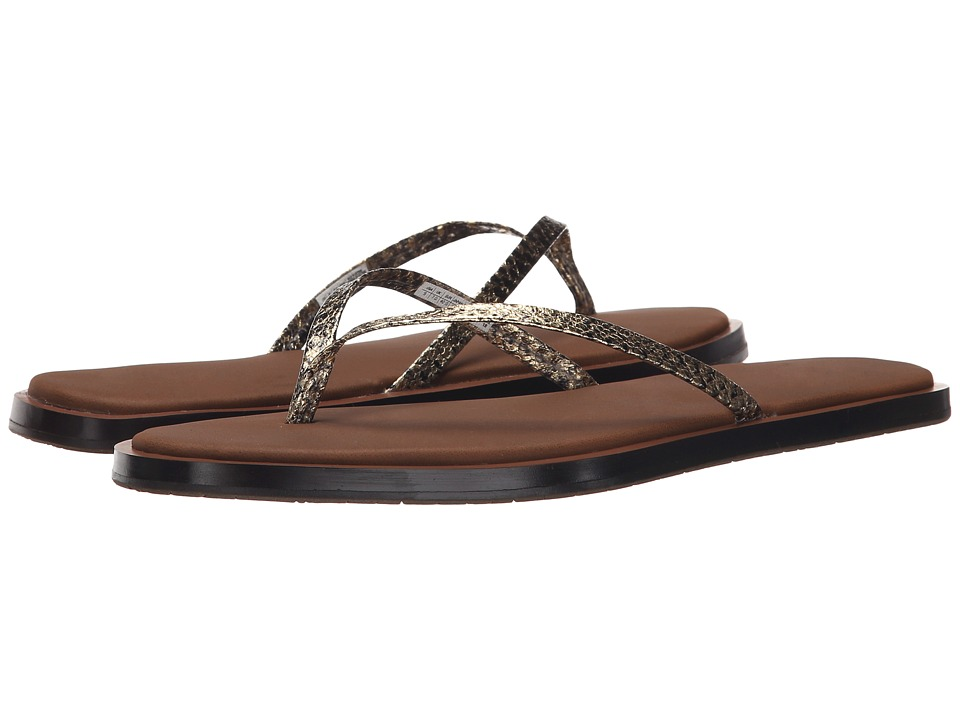 Sanuk - Yoga Aurora Luxe (Gold Snake) Women's Sandals