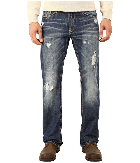 Request - Embroidered Bootcut Jeans in Manchester (Manchester) Men's Jeans