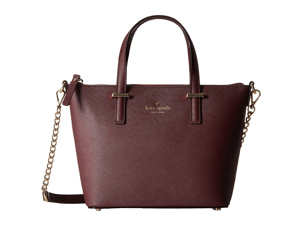 Kate Spade New York - Cedar Street Harmony Crossbody (Mulled Wine) Cross Body Handbags