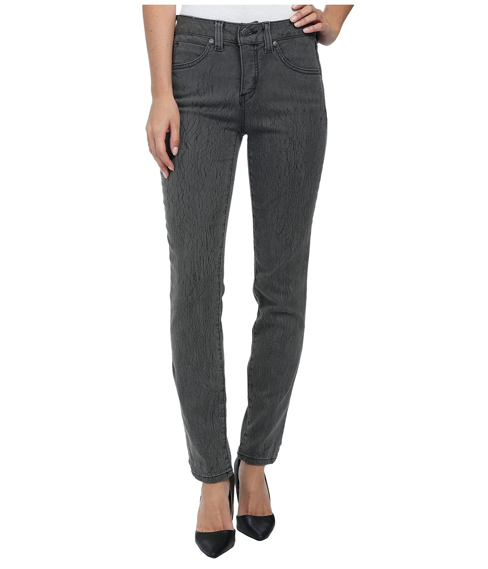 Miraclebody Jeans Rikki Crackle Skinny Jeans in Grey (Grey) Women