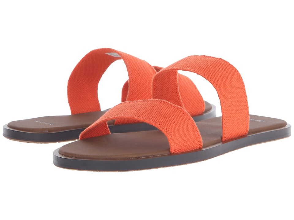 Sanuk - Yoga Gora Gora (Flame) Women's Sandals